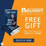 Get your FREE gift (Tom Ferry's Mindset, Model, and Marketing bestselling book!) with your LIVECAST ticket NOW! This offer ends on Sunday so hurry! >> https://t.co/NpNst6Xbv4  #tomferry #successsummit #summitlivecast #anaheim