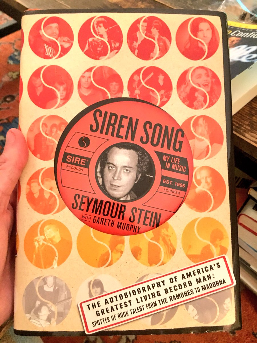 Web On Twitter Siren Song My Life In Music By Seymour Stein Is A Great Primer The Industry New Wave London NYC