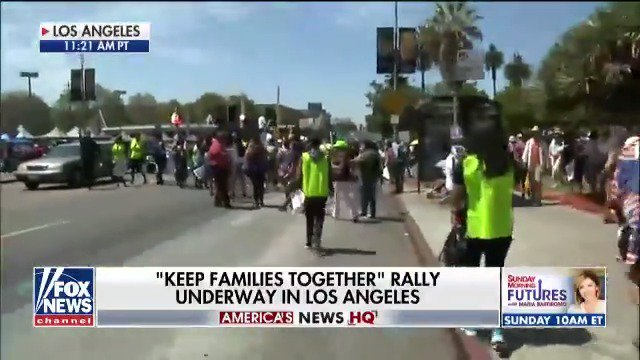 Happening Now: 'Keep Families Together' rally underway in Los Angeles. https://t.co/17GEl0Uyod