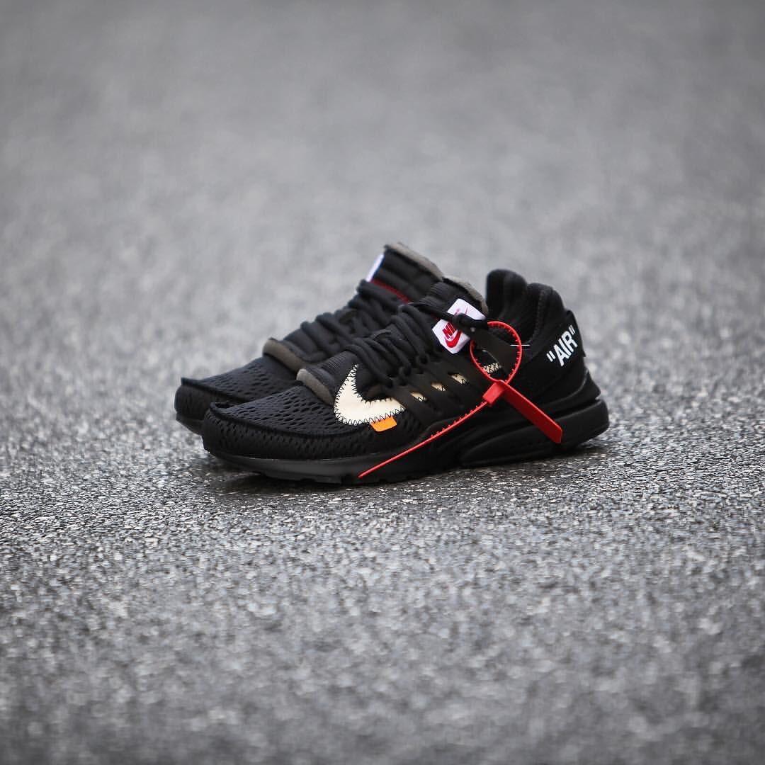 """.@OffWht x Nike Air Presto """"Polar Opposites"""" Pack. Black releases 7/27, White 8/3. 📸: gc911"""