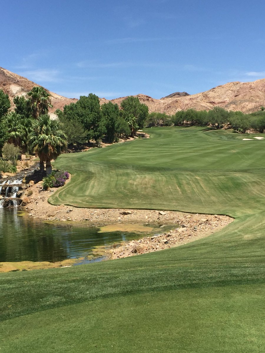 Great shot from the first tee @Covers_Vegas! Thanks for coming out to @cascatagolf. #cascatagolf #vegasgolf #lasvegasgolf