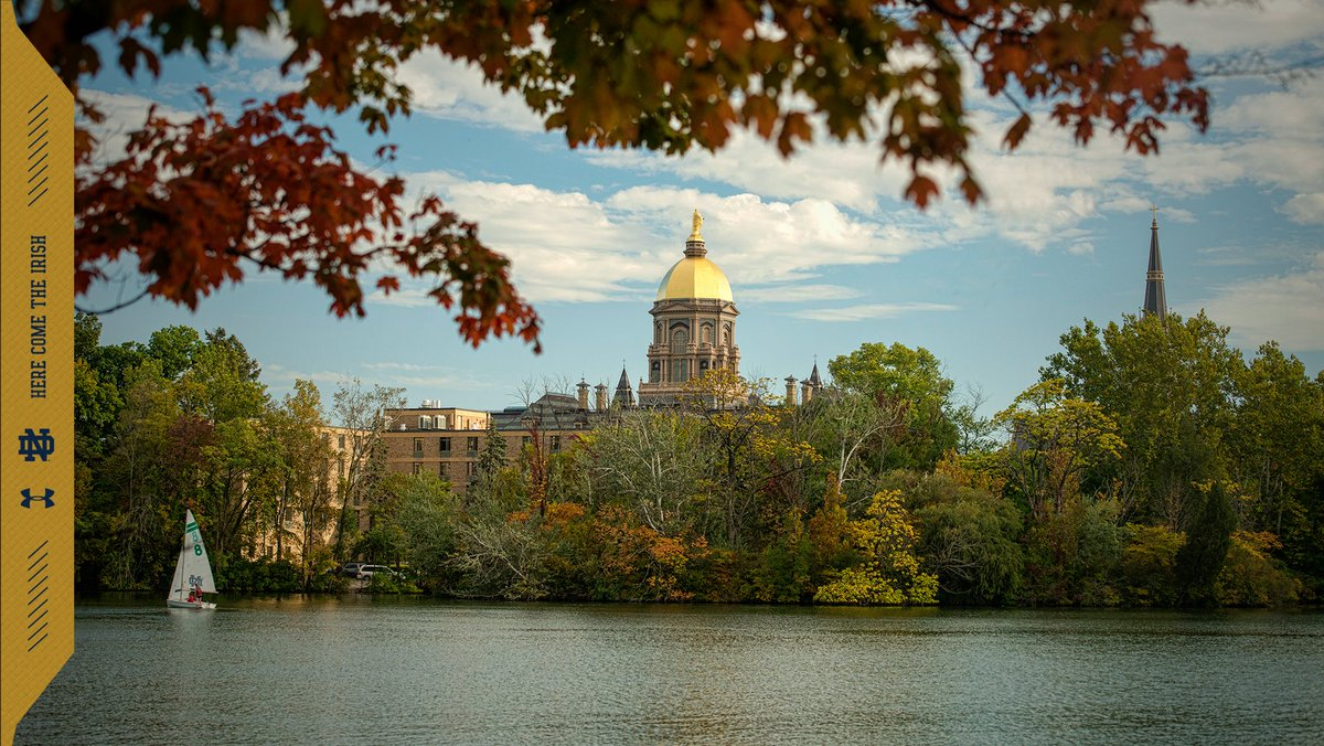 There's nowhere else like Notre Dame. #GoIrish ☘