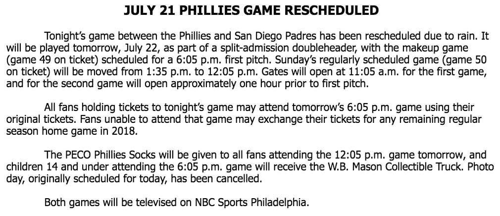 phillies home game schedule