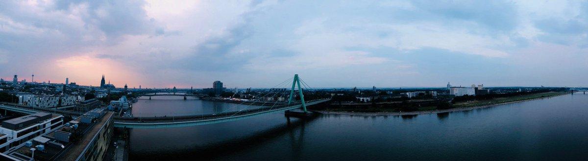 Köln, der Rhein, der Abend. #KölnerLichter