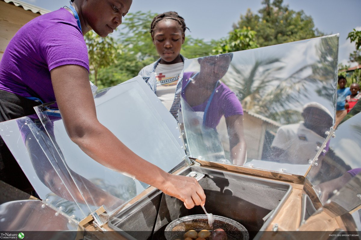 We need your help! We're scouring the globe for the best examples of fighting climate change through small changes to people's behavior (like replacing woodstoves w/ solar ovens in Haiti). If you've put an idea to action, enter #SolutionSearch by Aug 7 https://t.co/TXaQL11Q5H