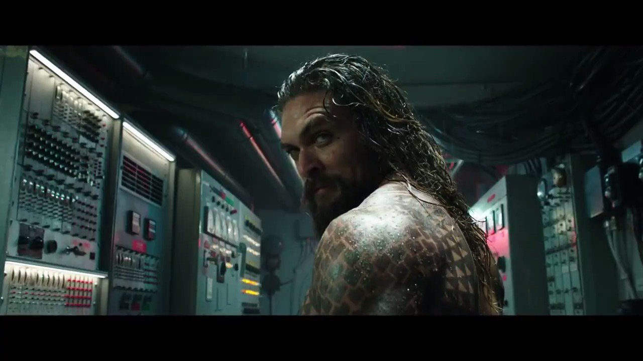 Watch the action-heavy first official trailer for Jason Momoa's #Aquaman: https://t.co/IhZrdnS3Cb