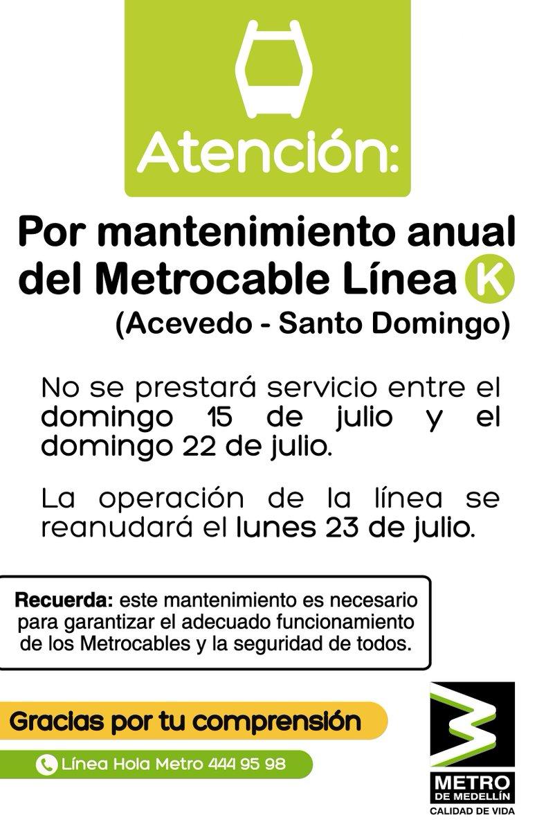 Metro de Medellín on Twitter: \