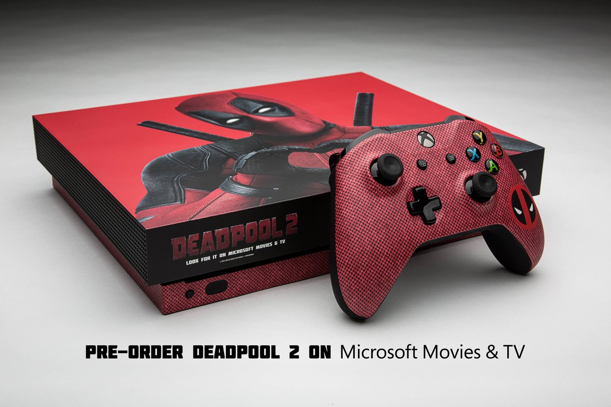 Katanas not included.  RT for a chance to win this custom #Deadpool2 Xbox One X.  NoPurchNec. Ends 07/24/18. #Deadpool2XboxSweepstakesXboxSweehttps://t.co/QHjBQJxCwMpstakes rules: