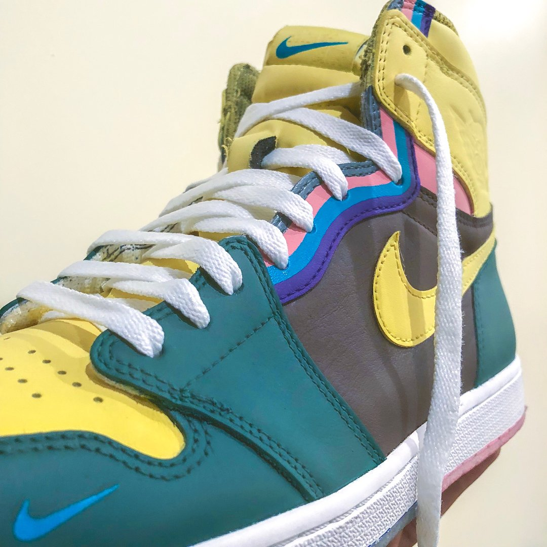 34678b34ac sean wotherspoon inspired air jordan 1 customs by dezinedope would you rock  these