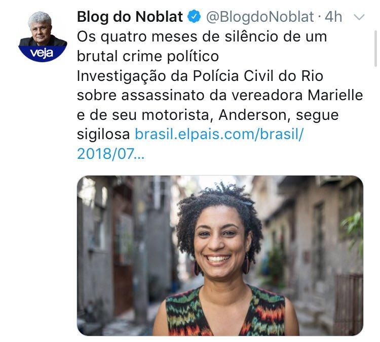 Crime Político? Ou Político morto por Criminoso? Não estou nem avençando a questão das alianças espúrias do partido dela. Crime político é bem diferente! E as 60 mil pessoas que são mortas no Brasil? Elas não merecem atenção só porque não são revestidas da ideologia que você ama?