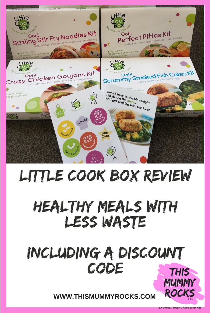 Claire Rocks On Twitter Little Cook Boxhealthy Meals With Less