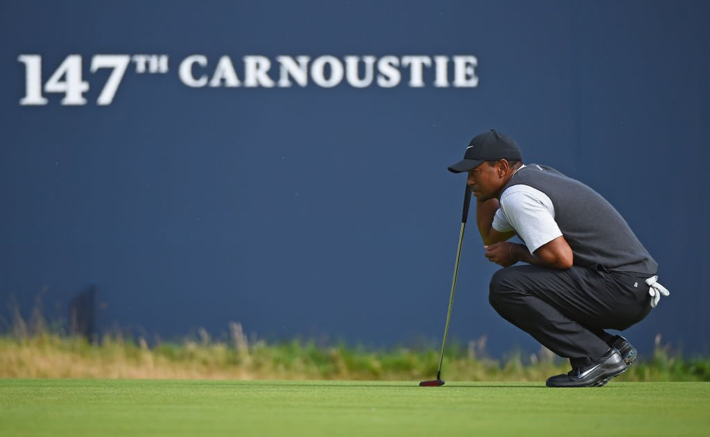 Back to his best? A resurgent Tiger Woods was the talk of the course today at The Open.   More: https://t.co/Y4Hh9gnJaA