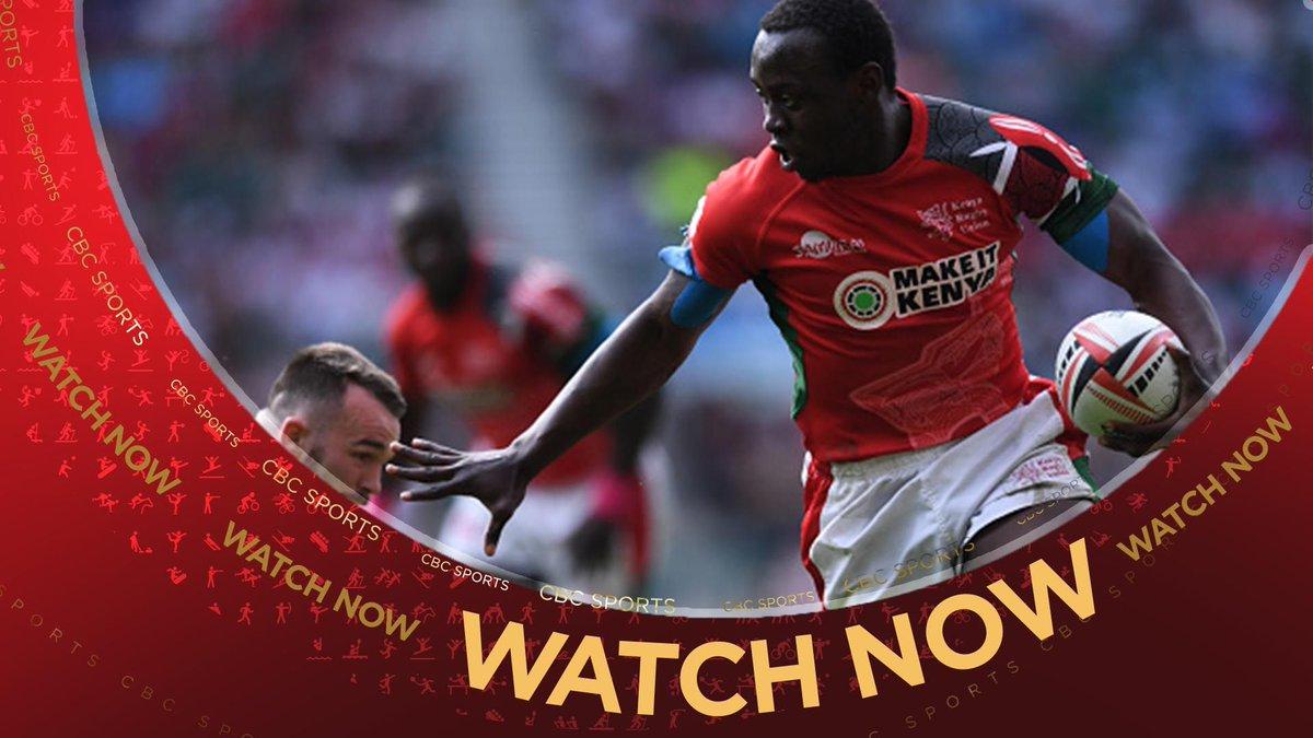 WATCH NOW | Rugby Sevens World Cup - Men's Challenge Trophy Quarter-finals begin with Kenya vs Ireland  @WorldRugby7s #RWC7s  https://t.co/r2CpAK7Rz8