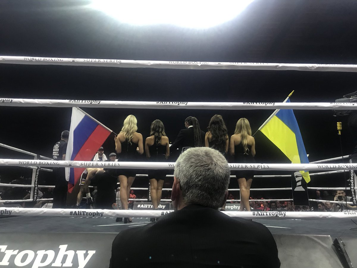 The fight starts NOW! #UsykGassiev #TheFinal