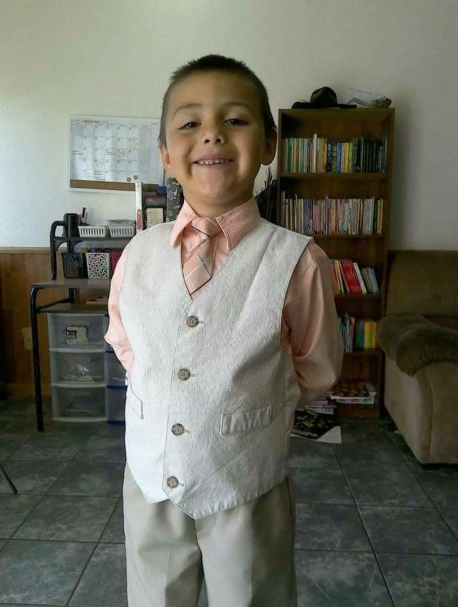 HE HAS A NAME: Anthony Avalos, a 10 year-old boy, was beaten to death by his mother and her boyfriend after he came out as gay.
