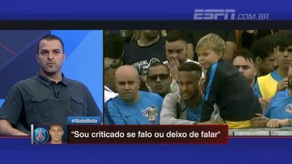 'Se Cristiano Ronaldo e LeBron James passam pela situação do Neymar, eles colocam a cara para bater', diz Zé Elias; ASSISTA! https://t.co/sGmZZJVlPW
