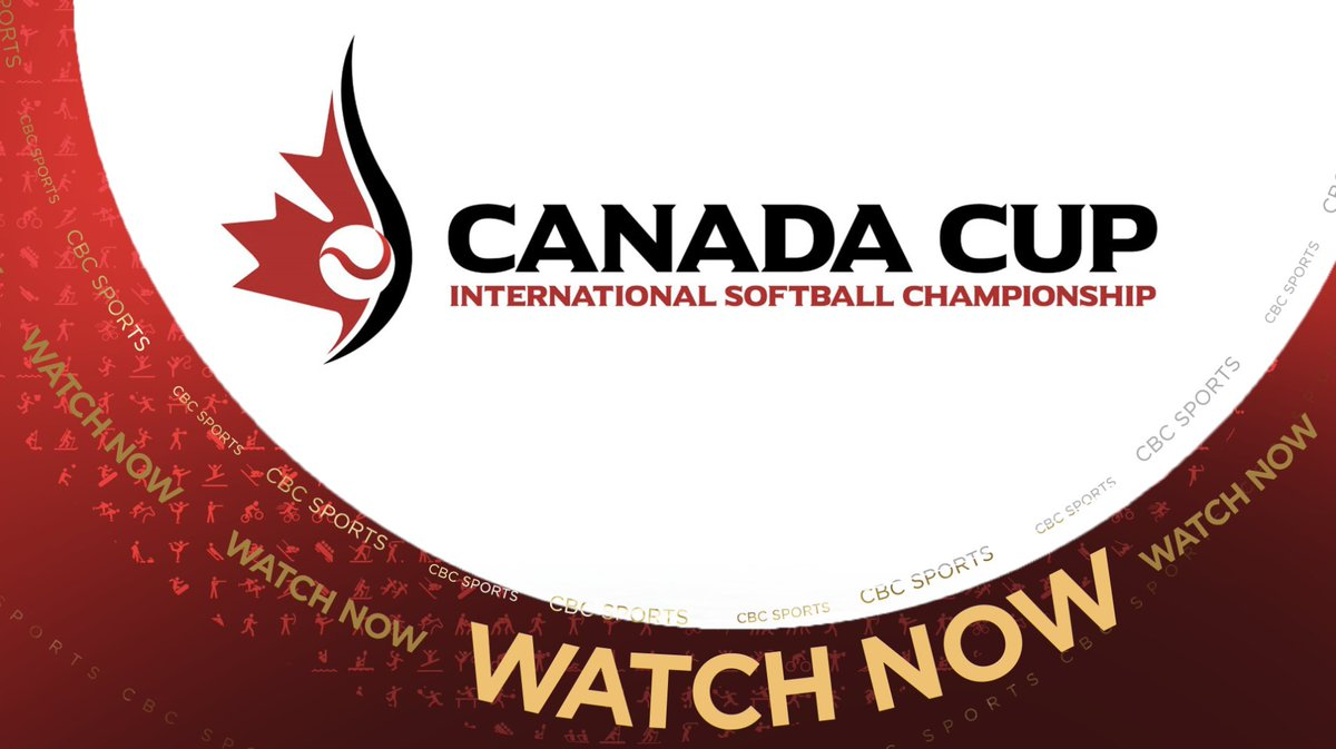 WATCH NOW | 2018 Canada Cup Women's International Softball Championships https://t.co/bwDEyt7Tuo