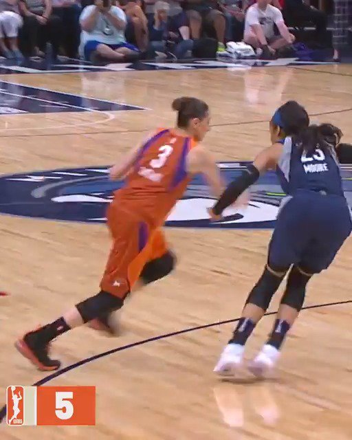 From no-look dimes to circus shots, top 5 plays this season by 9-time #WNBAAllStar @DianaTaurasi! Watch @PhoenixMercury vs. @minnesotalynx at 10 pm/et on League Pass!