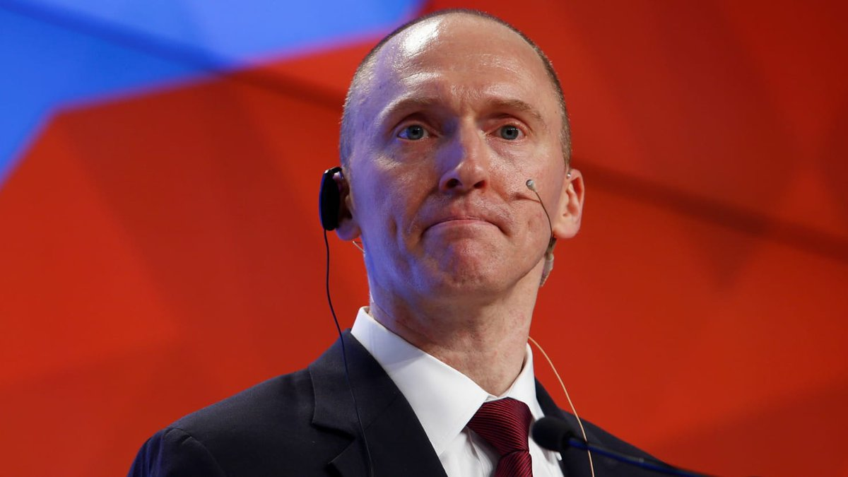 'Agent Of A Foreign Power': In Historic First, DOJ Releases Carter Page FISA Application https://t.co/T3jhffeP2X