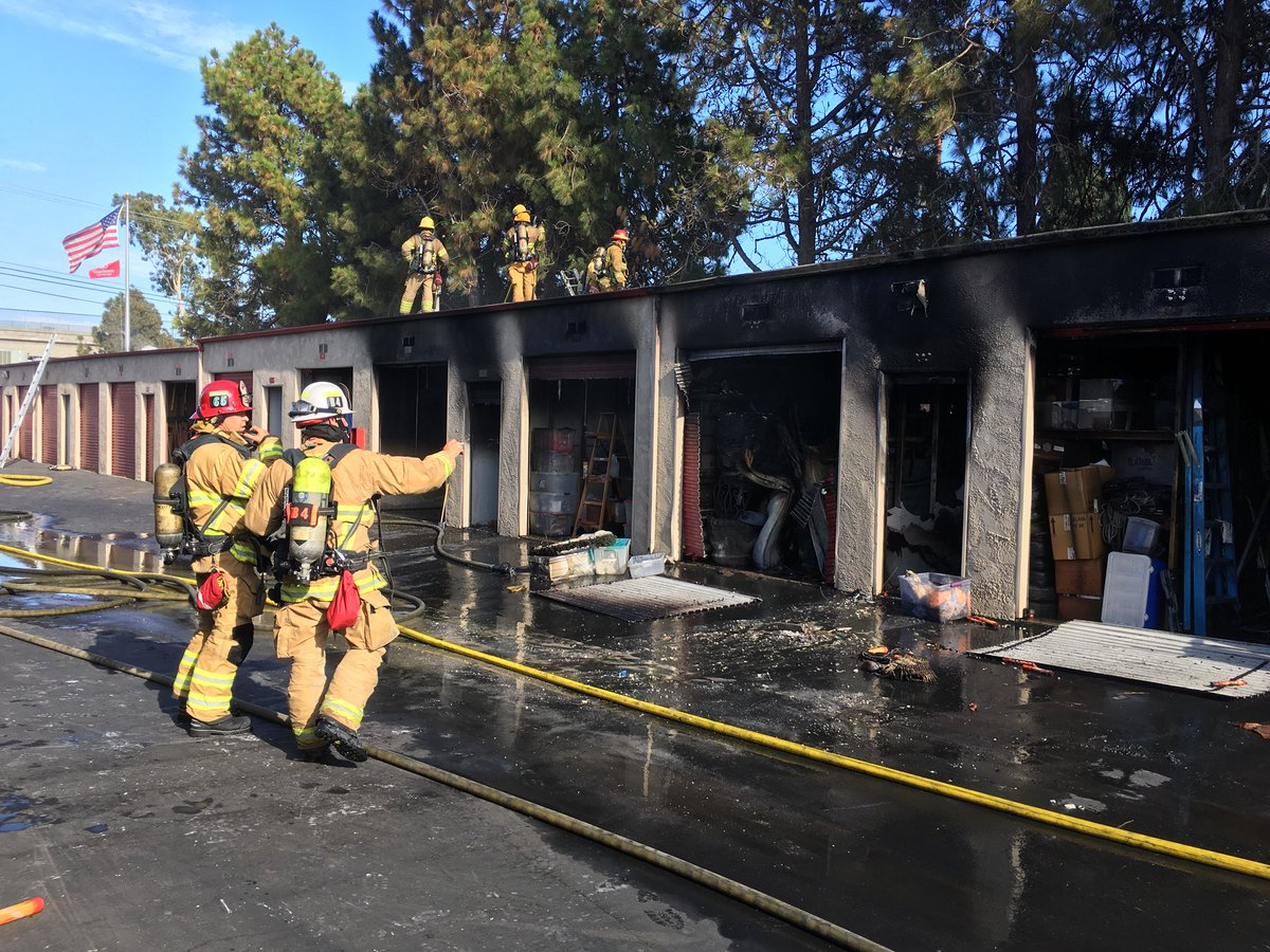 OCFA PIO on Twitter  Westminster Self Storage Facility Fire Incident time was 449. 4-6 units damaged or destroyed. Fire under control. & OCFA PIO on Twitter: