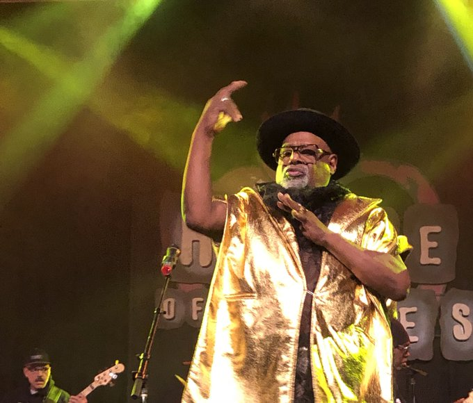 Happy Birthday George Clinton hope everything is on the 1 for ya today