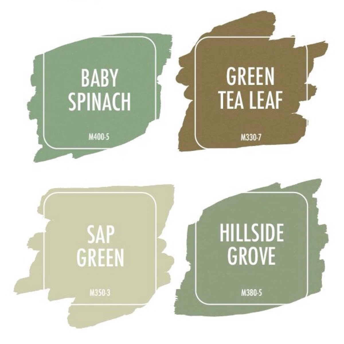 3 Baby Spinach 4 Green Tea Leaf 5 Sap 6 Hillside Grove Sesuai Dijadikan Warna 1 Feature Wall 2 Bilik Study Tidur Ruang Tamu Mandi