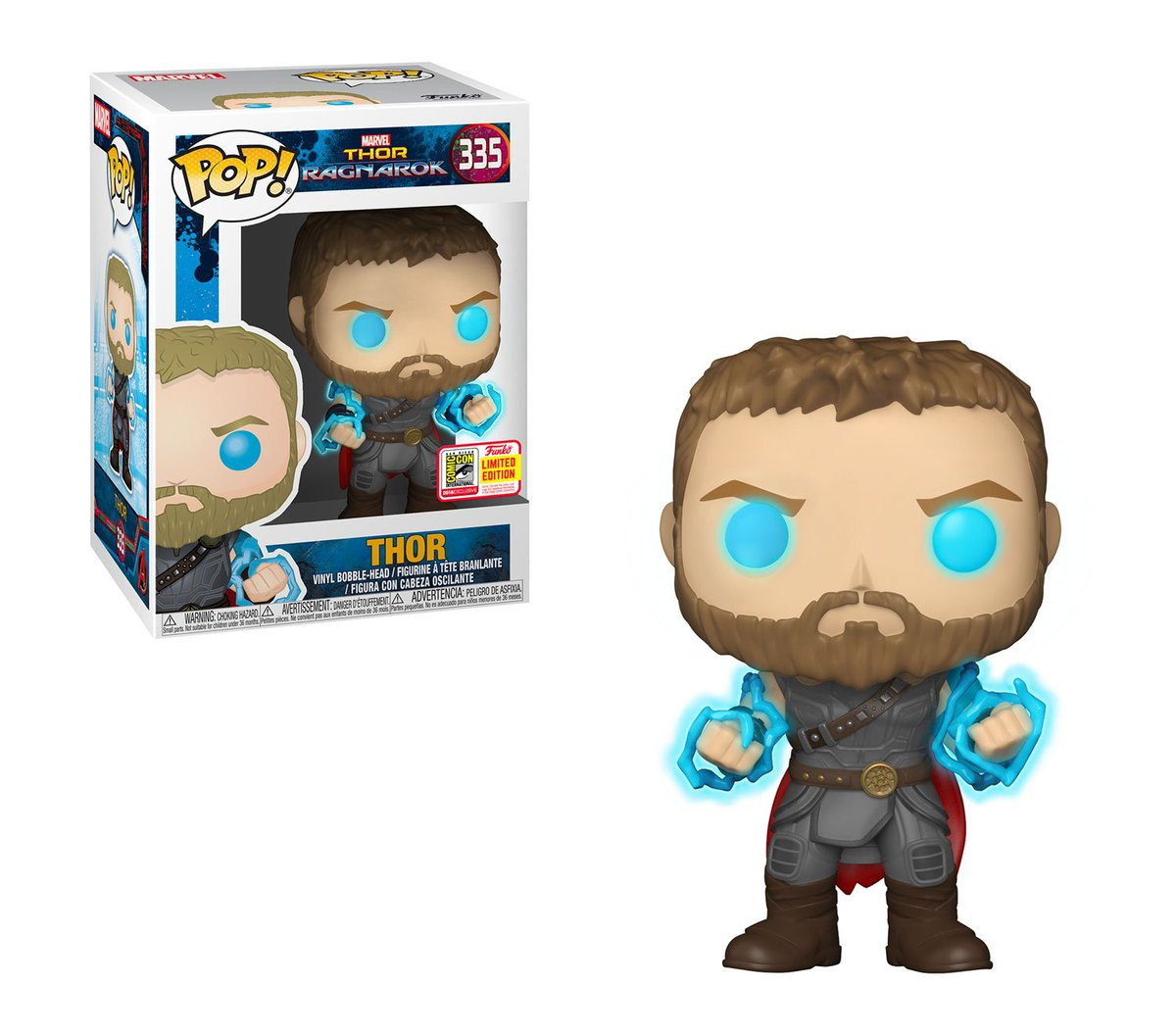 RT & follow @OriginalFunko for a chance to WIN a #SDCC 2018 exclusive Thor Pop!
