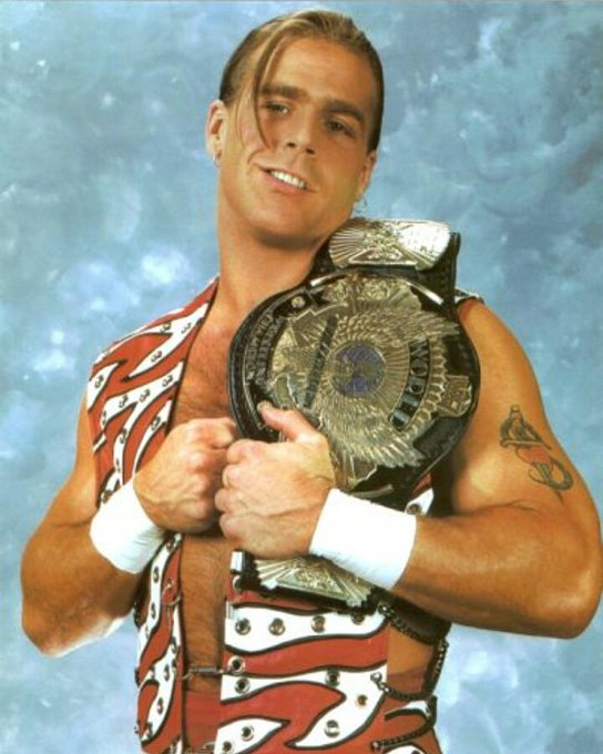 Happy birthday to HOF HBK Shawn Michaels!