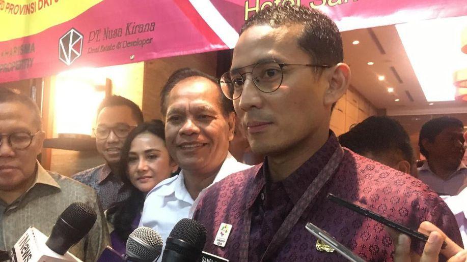 Sandi Minta Spanduk Berbau Politik Dicopot Jelang Asian Games https://t.co/9a0aU55c5u https://t.co/cEJJNMYyL0