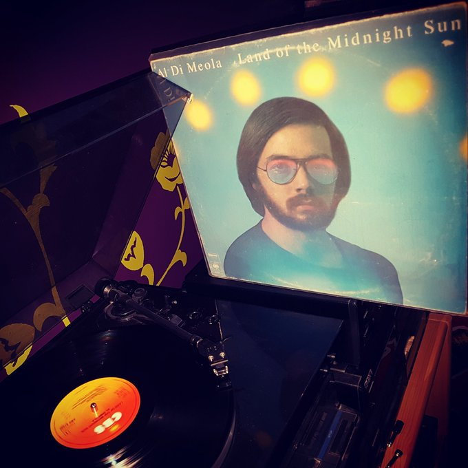 Happy Birthday Al Di Meola *64* !  Land of the midnight sun (CBS/1976)