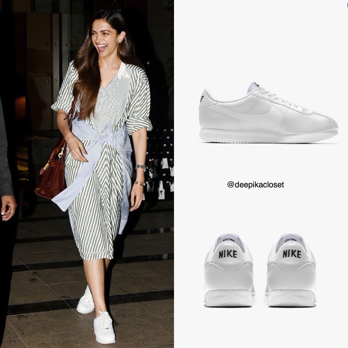 deepika padukone white shoes