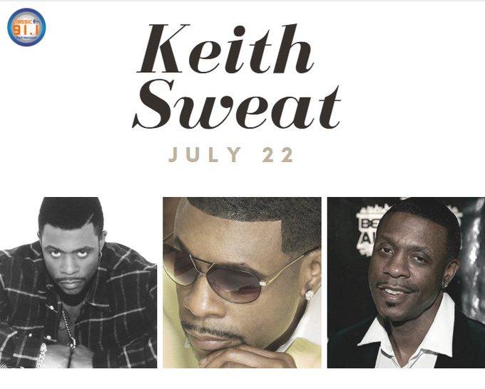Happy birthday to R&B singer Keith Sweat