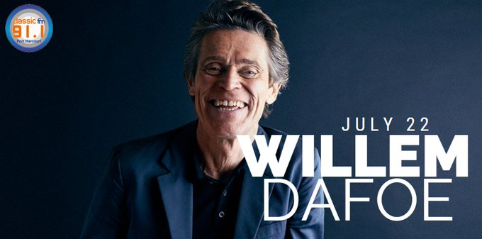 Happy birthday to actor, Willem Dafoe