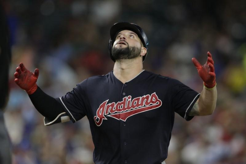 Indians' offense as hot as temperature in 16-3 win at Texas https://t.co/hbRu0owbFO https://t.co/J4nCcoAnyU