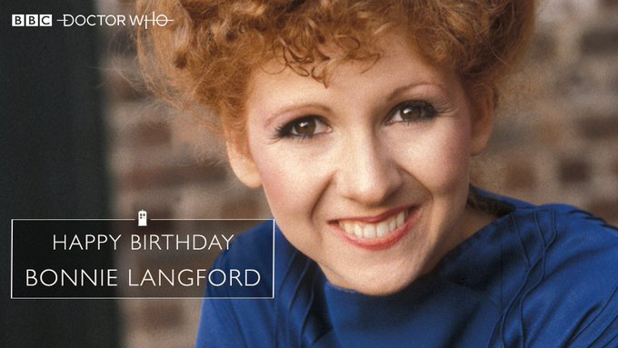 Happy birthday to the marvellous Mel - Bonnie Langford!