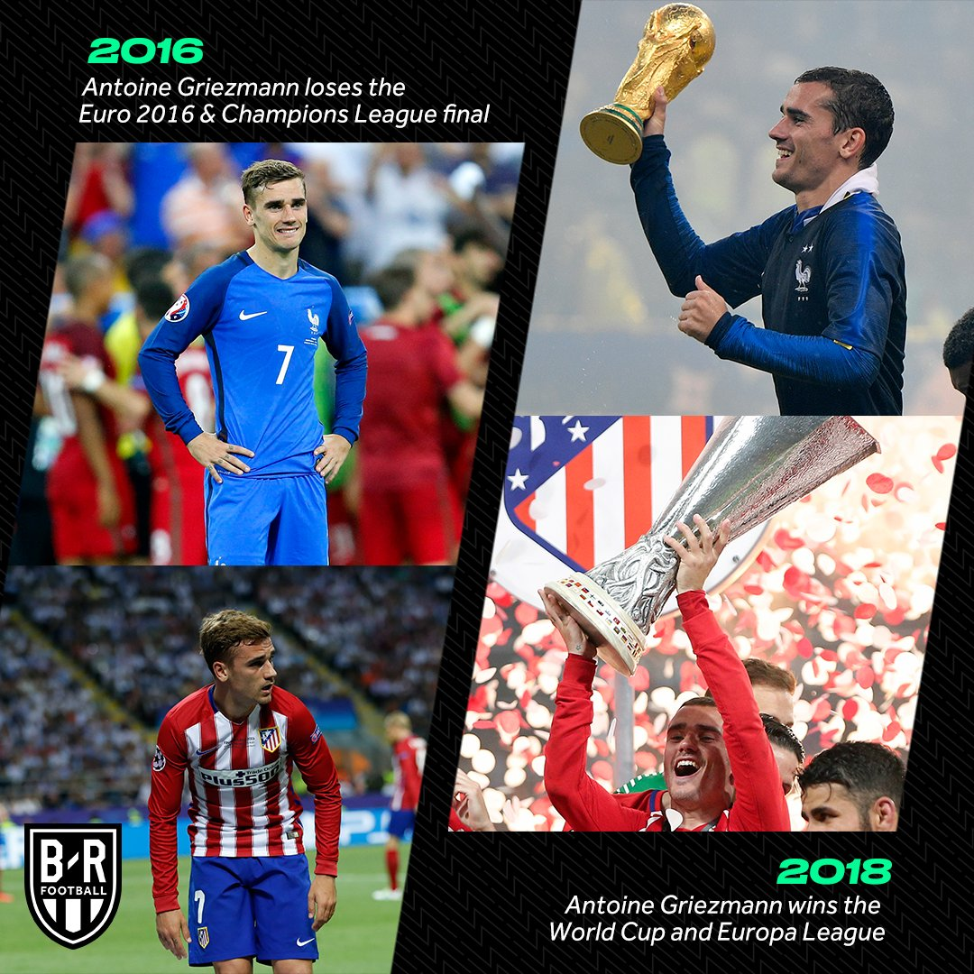 How things turn around, @AntoGriezmann 🔄🏆