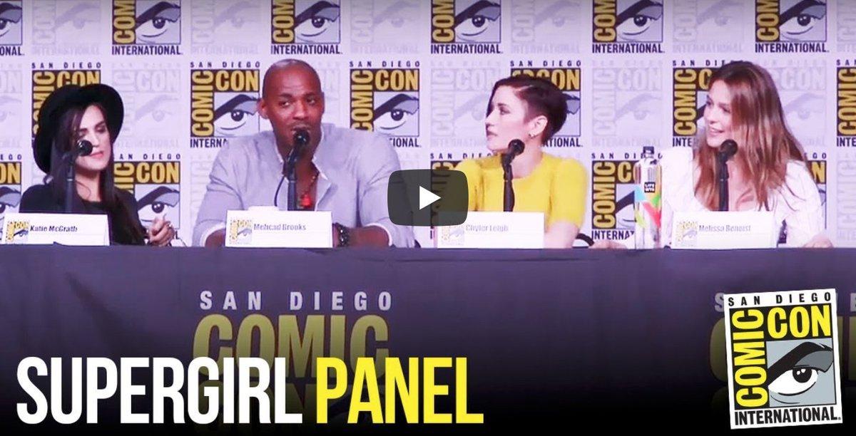 #Supergirl #SDCC Panel [VIDEO] #ComicCon #SDC2018 spoiltv.me/2uRozor