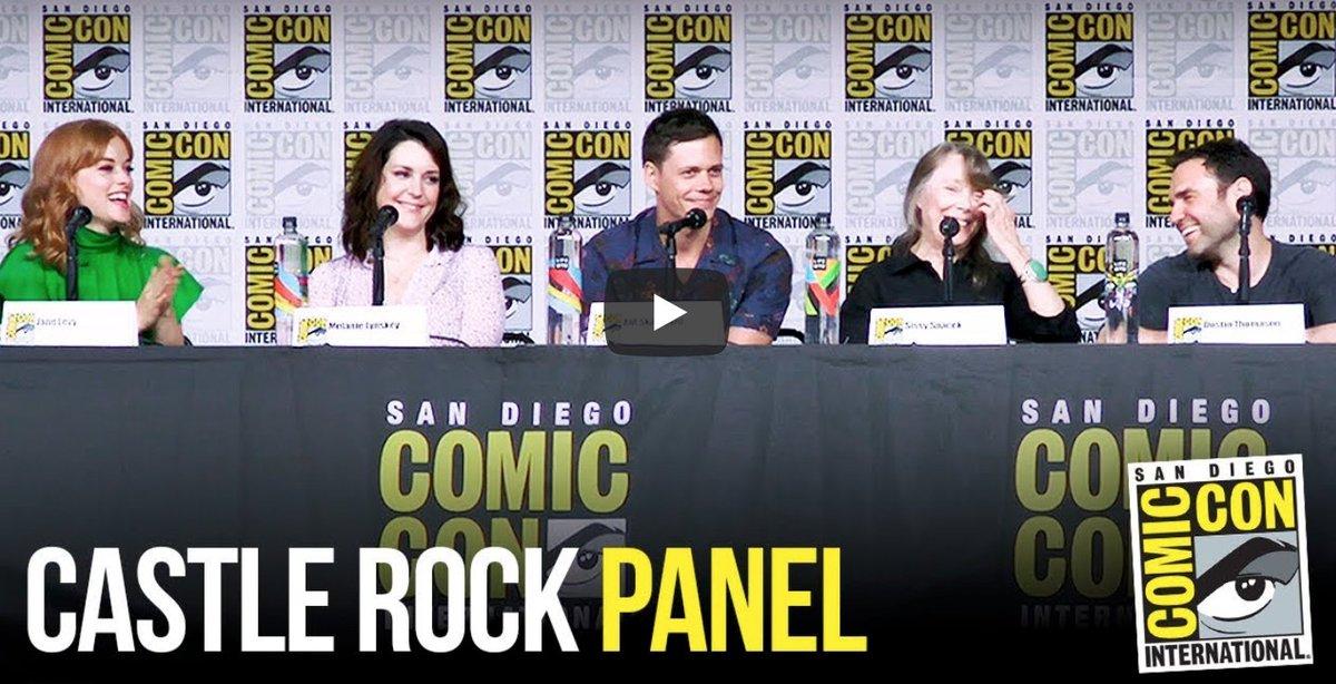 #CastleRock #SDCC Panel [VIDEO] #ComicCon #SDCC2018 spoiltv.me/2uRozor