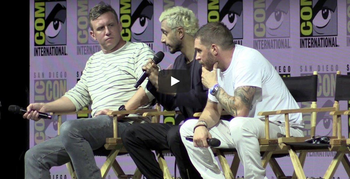 #Venom #SDCC Panel [VIDEO] #ComicCon #SDCC2018 spoiltv.me/2uRozor