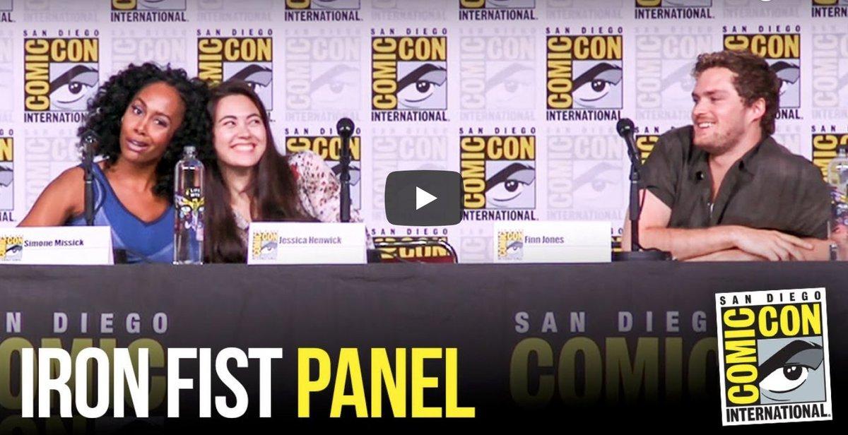 #IronFist #SDCC Panel [VIDEO] #ComicCon #SDCC2018 spoiltv.me/2uRozor