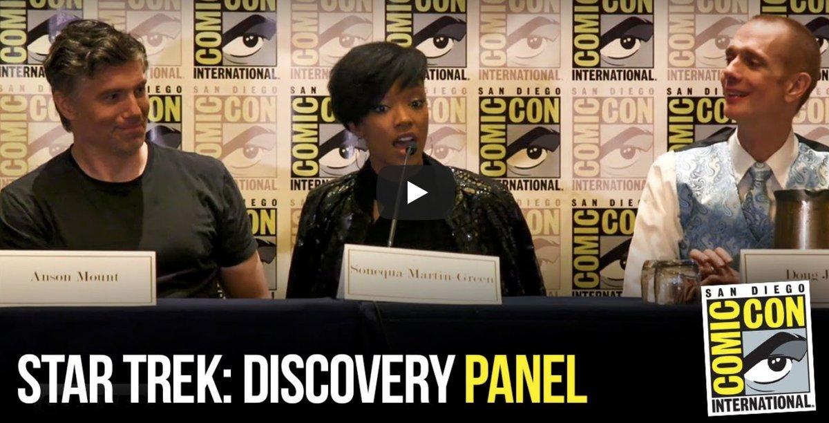 #StarTrekDiscovery #SDCC Panel [VIDEO] #ComicCon #SDCC2018 spoiltv.me/2uRozor