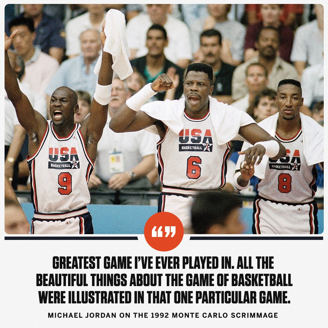 On This Date: The Dream Team played a secret scrimmage that'll go down in history. https://t.co/le4V7ZN0rC