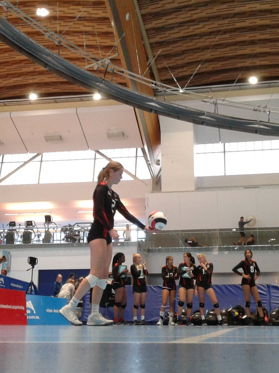 Go Team Ontario!! #FCVC athletes competing in Gold and Bronze medal matches today.