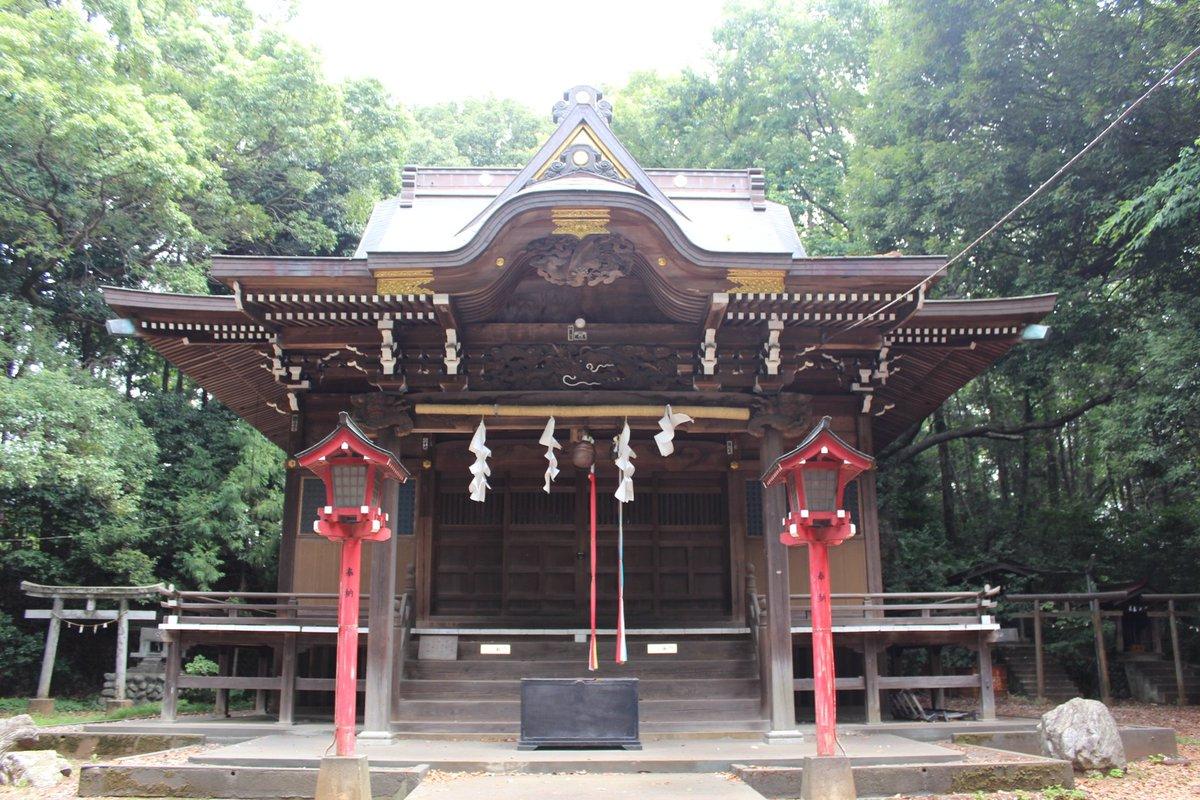 """Uživatel 朝日中野 na Twitteru: """"#狭山神社 東京都瑞穂町 村社 御祭神 ..."""