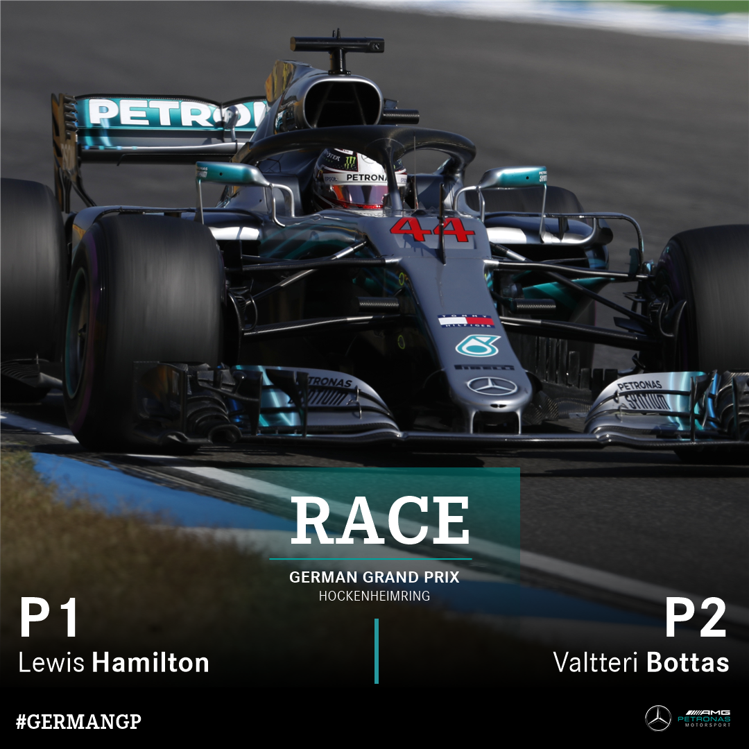 Mercedes-AMG F1's photo on #GermanGP