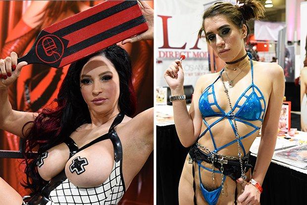 Exhibition sex show