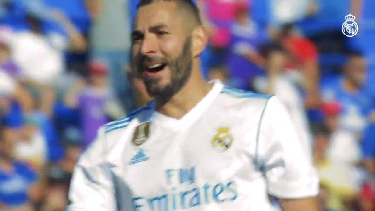 ���� ¡@Benzema es el séptimo máximo goleador de la historia del Real Madrid!  ⚽ 192 goles �� 16 títulos  #HalaMadrid https://t.co/AlwaMk62XT