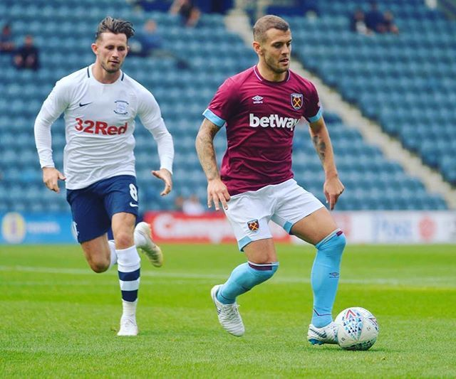 Nice to get my first 45 minutes as a Hammer, looking forward to the next one ⚒⚒
