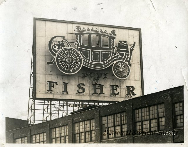 1908 : Fisher Body Company Incorporated