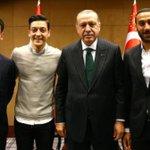Mesut Ozil Twitter Photo